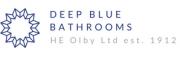Deep Blue Bathrooms