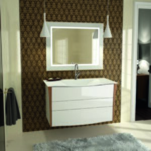 Decotec Bellagio Washbasin and Vanity Unit