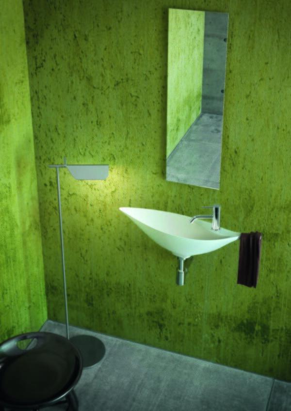 Decotec Colibri Washbasin and Towel Rail