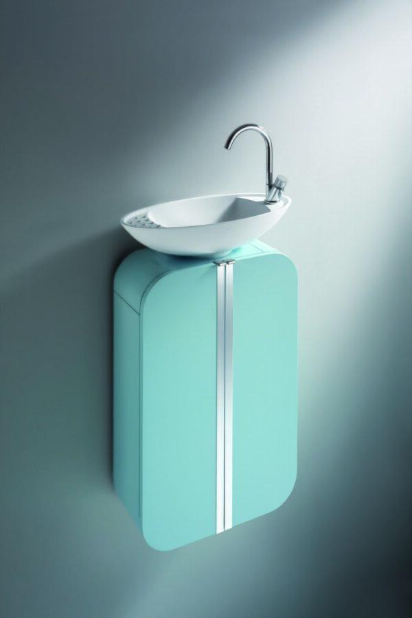 Decotec Yole & Oval Washbasin Unit