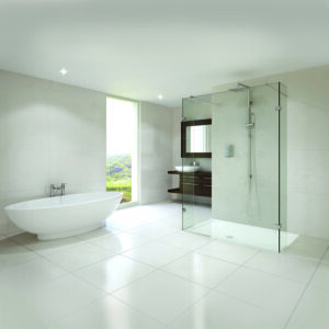 Aqata SP450 Spectra Straight Walk-In Shower Enclosure