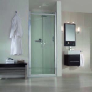 Aqata SP480 Spectra Hinged Shower Doors