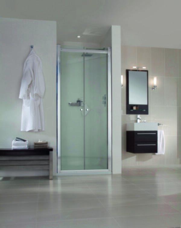 Aqata SP480 Spectra Hinged Shower Doors
