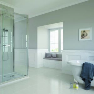 Aqata SP481 Spectra Bifolds Shower Enclosure