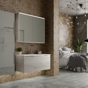 Utopia Halo Modular Washbasin and Vanity Unit
