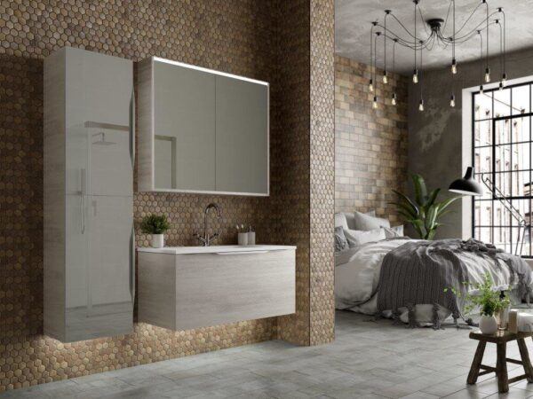 Utopia Halo Modular Washbasin and Vanity Unit