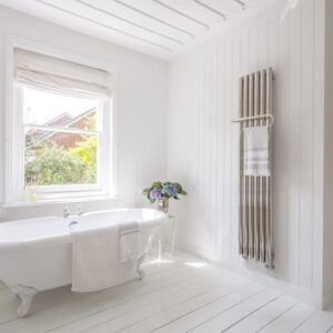 Bisque Quill Radiator Towel Rail