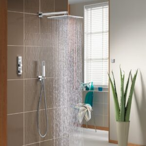 Aqualisa HIQU Digital Thermostatic Shower and Bath Mixer