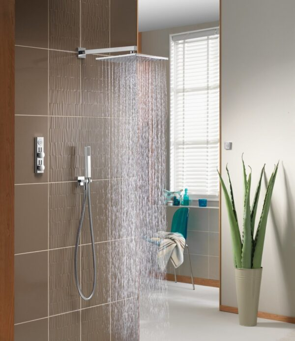 Aqualisa HIQU Digital Thermostatic Shower and Bath Mixer