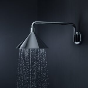 Axor Front Chrome Wall Mounted Showerhead