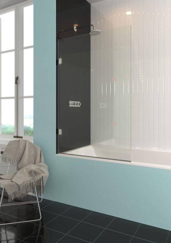 The Showerlab Osmium Bathscreen
