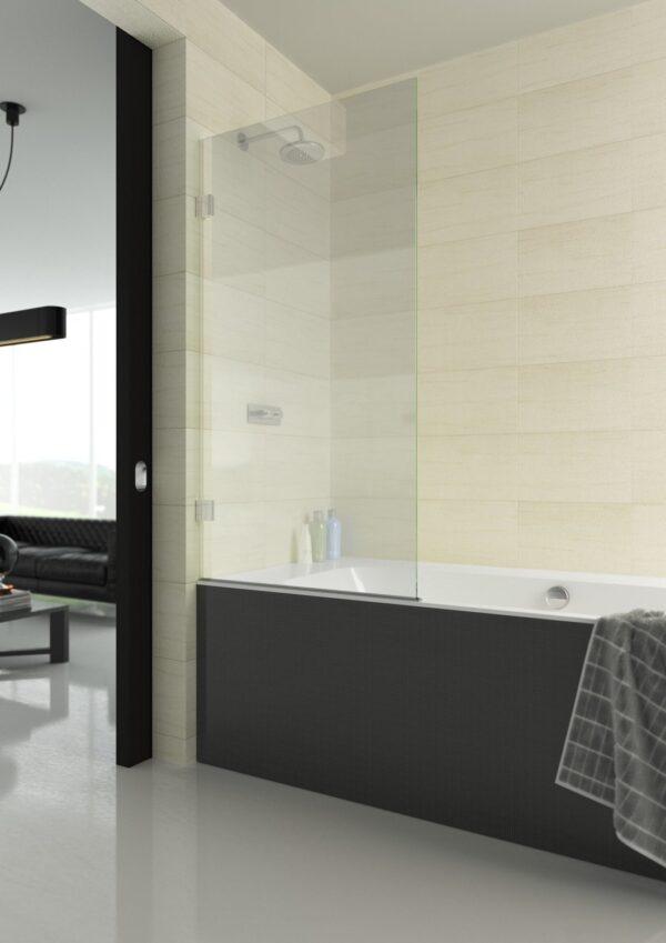 The Showerlab Cadmium Bathscreen