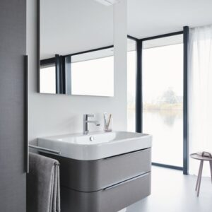 Duravit Happy D2 Washbasin with 2-Drawer Vanity Unit