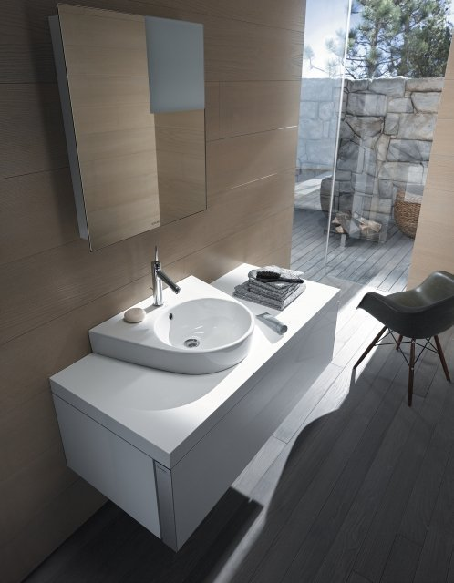 Duravit Starck 2 Washbasin and Vanity Unit