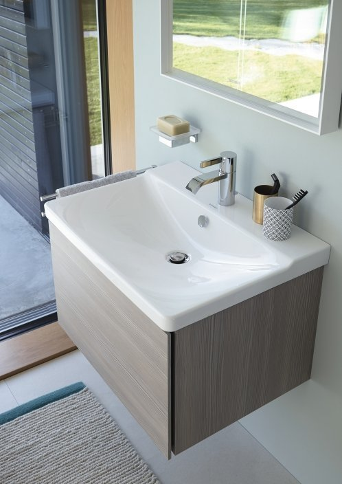 Duravit P3 Comforts Washbasin and Vanity Unit