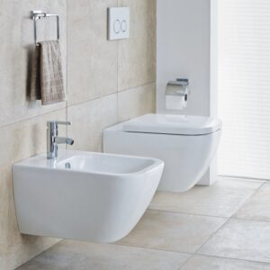 Duravit Happy D2 Wall-Mounted WC and Bidet