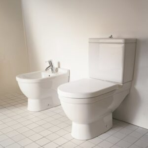Duravit Starck 3 Close-Coupled WC and Bidet
