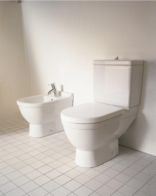 Duravit Starck 3 Close-Coupled WC and Bidet