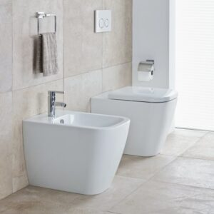 Duravit Happy D2 Back-to-Wall WC and Bidet