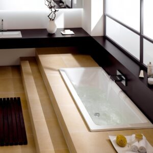 Inset & Built-In Steel Baths