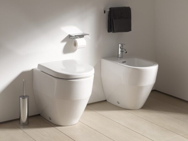 Laufen Pro Back-to-Wall WC and Bidet