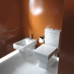 Duravit Vero Close-Coupled WC and Bidet