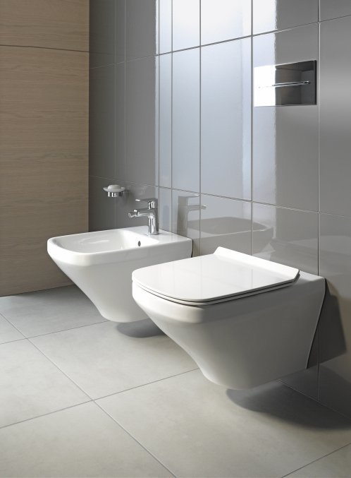 Duravit Durastyle Wall-Mounted WC and Bidet