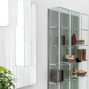 Arte Linea Vetrinette Glass Box Bathroom Storage System