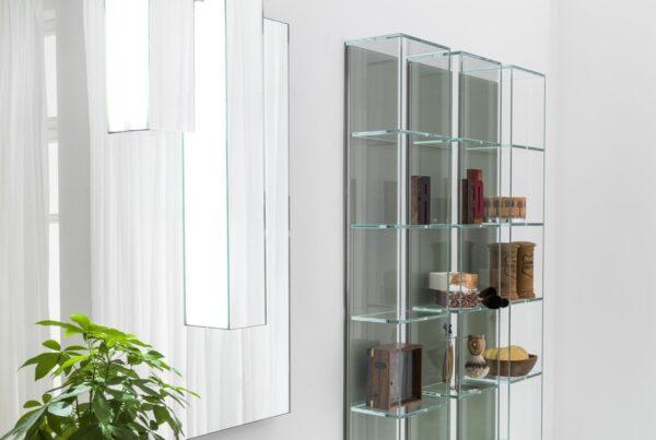 Arte Linea Vetrinette Glass Box Bathroom Storage System