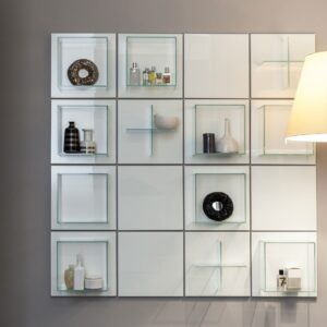 Arte Linea Summa Grid Wall Bathroom Storage System