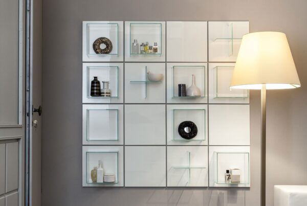Arte Linea Summa Grid Wall Bathroom Storage System