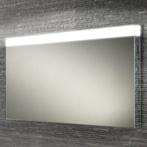 HIB Alpine LED Colour Changing Heated Mirror with Mirror Sides