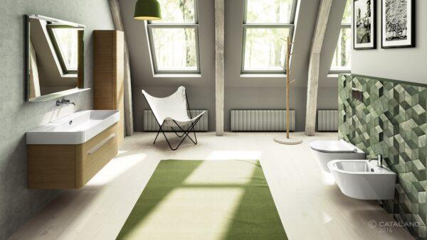 Catalano Green Washbasin and Vanity Unit