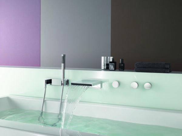 Dornbracht Set 4 Deque Bath Mixer