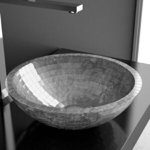 Alchemyaward Mosaic Glass Basin