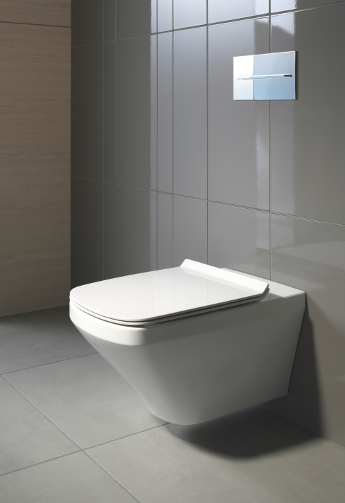 Duravit Durastyle Back-to-Wall WC and Bidet