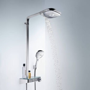 Raindance Select E Showerpipe 300