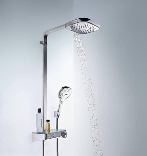 Raindance Select E Showerpipe 300