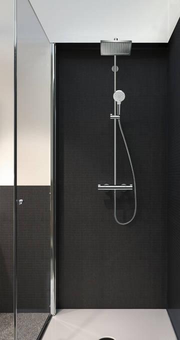 Crometta E Showerpipe 240